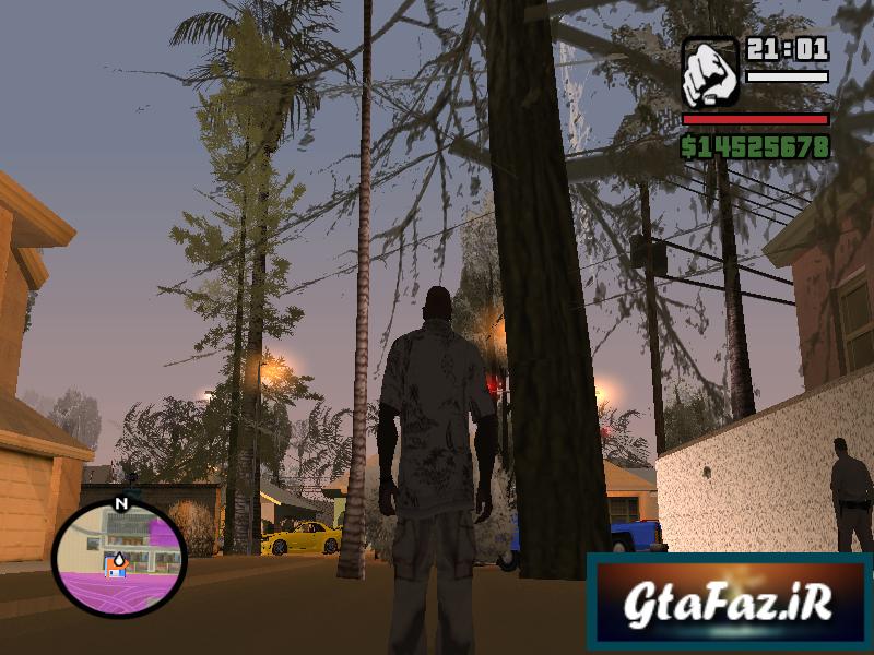 دانلود مود درخت کاشتن در همه جا برای GTA SA