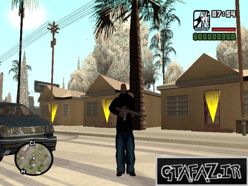 دانلود مود باز شدن در همه خانه ها برای GTA SA