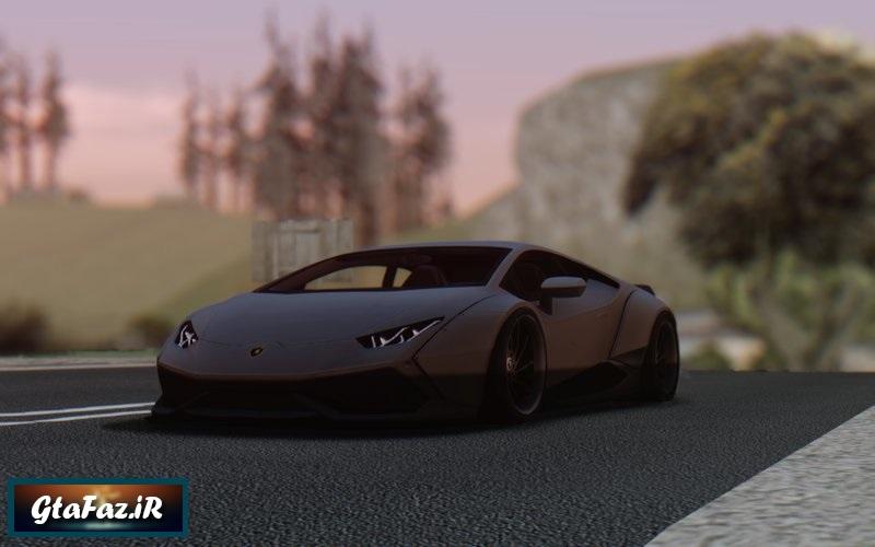 دانلود ماشین Lamborghini Huracan LB برای (GTA (San Andreas