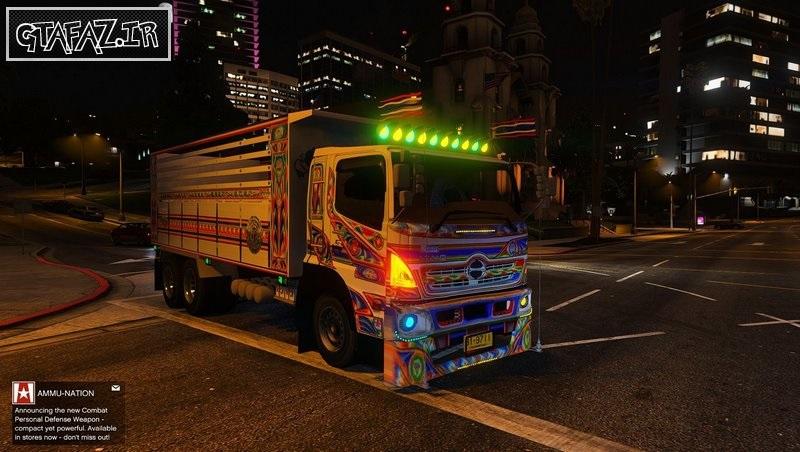 دانلود هینو کامیون تایلند برای Gta V