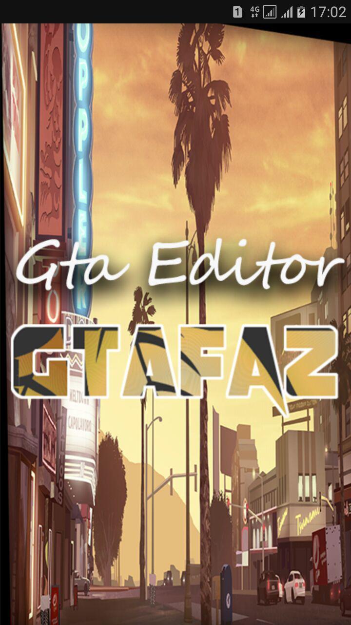 دانلود اپ اندروید Gta Editor