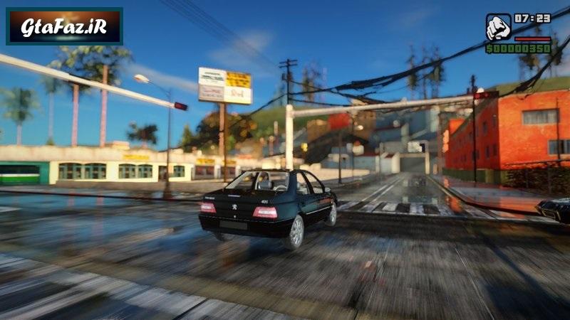 دانلود ماشین پژو 405 SLX برای (GTA (San Andreas