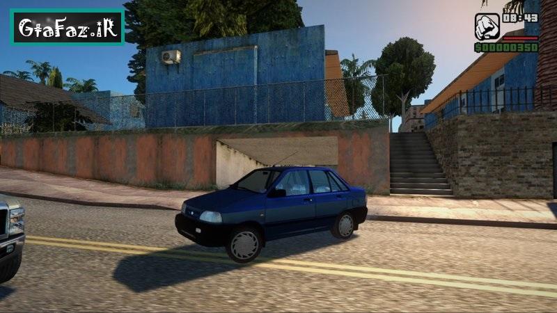 دانلود ماشین پراید صبا برای (GTA (San Andreas