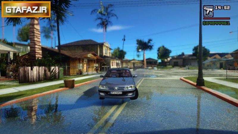 دانلود ماشین پژو PARS برای (GTA (San Andreas