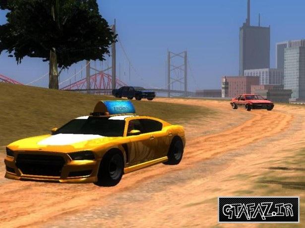 دانلود مود پیدایش ماشین ها در جاده های خاکی برای (GTA 5 (San Andreas