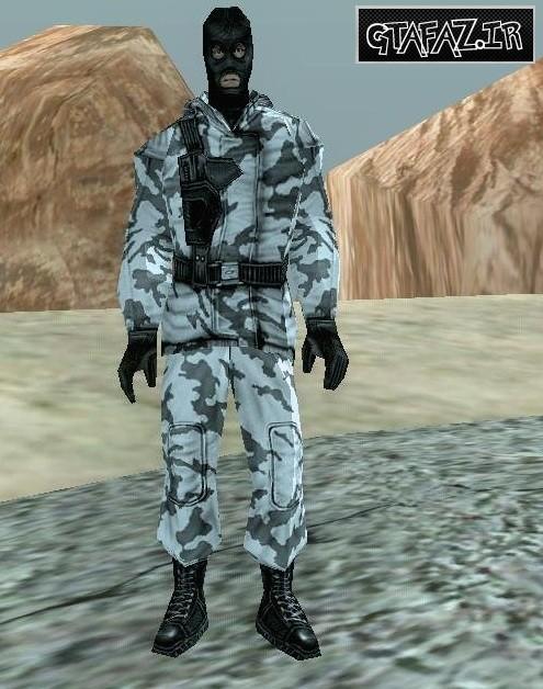 دانلود اسکین شخصیت بازی کانتر استریک برای (GTA 5 (San Andreas